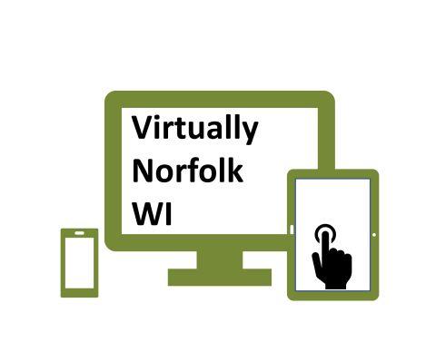 Virtually Norfolk WI logo