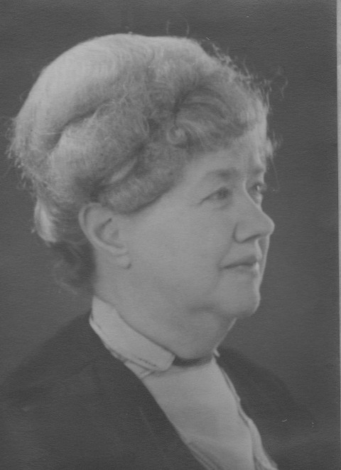 Mary Burgess in 1940