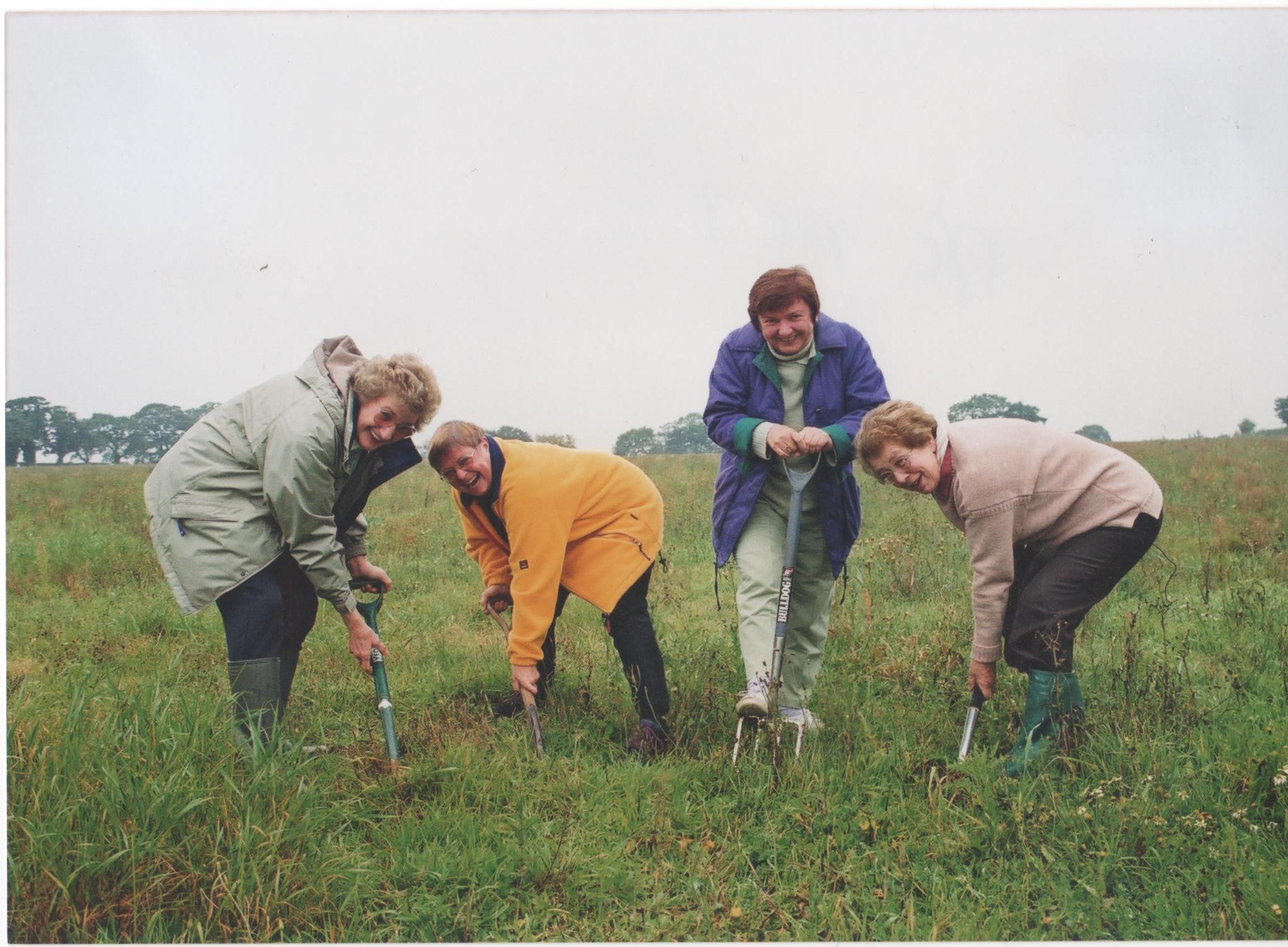 Trustees Planting